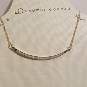 LC Lauren Conrad Sparkly Bar Necklace
